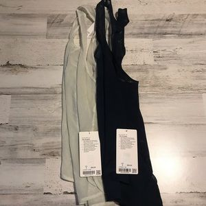 LULULEMON TANK BUNDLE 8 MEDIUM OCMS AND JTBL
